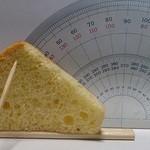kurono - 料理写真:分度器とケーキは非接触です(40度位)
