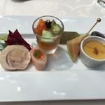 赤坂シュビア - 前菜