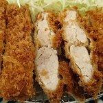 とんかつ 田 - とんかつ 田 西葛西店 ランチの120gのヒレカツ とても柔らかな食感です