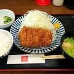 とんかつ 田 - とんかつ 田 西葛西店 ランチ ヒレカツ定食 907円(税込)
