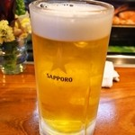 だるま寿し - 生ビール