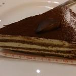 ピッツェリア マリノ - セットのデザートからティラミス