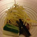 和心亭 豊月 - 春野菜と和とん