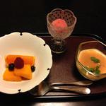 和心亭 豊月 - 水菓子