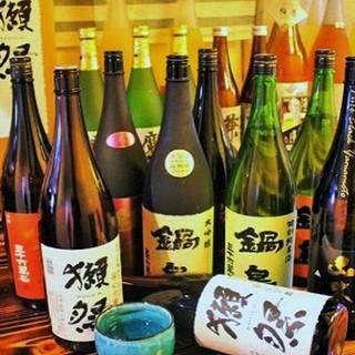 【日本酒・焼酎・ワイン等】希少な銘柄豊富に取り揃えております