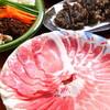 てぃーだむーん - 料理写真:あぐー豚の食べ比べしゃぶ鍋