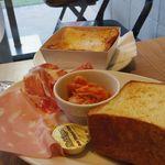 パンとエスプレッソと - トーストセット&ハムセット