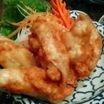 ケーラン - 「ヘークン」¥1,500 海老のすり身の揚春巻