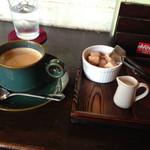 夕空コーヒー - 有機栽培コーヒー250円は食事と同時注文で100円引き