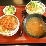 いな垣 - ミニヒレソースカツ丼