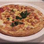 フラカッソ - チーズのピザ(380円)