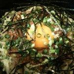 麺屋かまし - かまし麺(温・卵先)