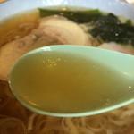 いずみや - 佐野らしい、澄んだスープ。