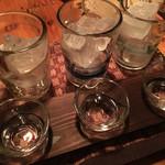 ひとひねり 離 - 泡盛3種飲み比べ