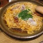謙徳蕎麦家 - うなぎ玉子とじ(¥780−)