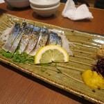 謙徳蕎麦家 - へしこサバ(¥750−)