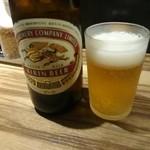 博多荘 - 瓶ビール(550円)