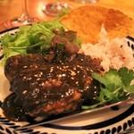 Mexican Dining AVOCADO  - 若鶏のモレソース   1,600円 カカオと野菜を煮込んでつくるメキシコ伝統のソース「モレ」