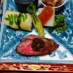 料理旅館こまくさ - 料理写真:前菜盛り合わせ