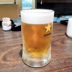 活魚小松 - 生ビール