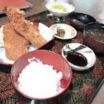 活魚小松 - アジフライ定食