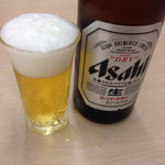 ラーメン横綱 - 瓶ビール¥500円〜♪( ´θ.`)ノ