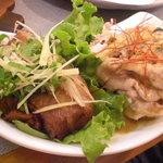 昭和のがんちゃん - 角煮と豚しゃぶ