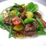 トラットリア ガヴェ - イベリコ豚肩ロース肉のグリル