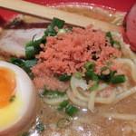 えびそば一幻 新千歳空港店 - えびみそ太麺(そのまま)780円