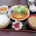 Aruba - 料理写真:さばの味噌煮定食2016.04.16