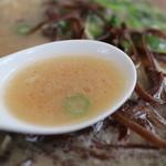 九州博多屋台処 居酒屋 むかしや - スープ