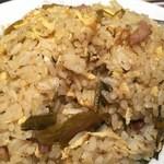 香巷菜 松楽 - 高菜チャーハン ご飯の炊き加減固めにするともっといい