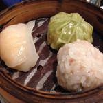 Chinhaishin - 海老蒸し餃子・グリーン包子・もち米肉団子