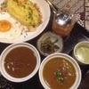 スミダリバーキッチン - 料理写真:2種盛り(マトン、ビーフ)+目玉焼き