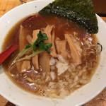 双麺 - しょう油にメンマ