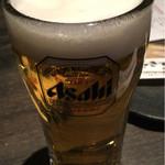 ときすし - ビール。