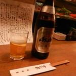 麦屋魚仙坊 - とりあえずビール♪