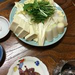 49886012 - すっぽん鍋の野菜