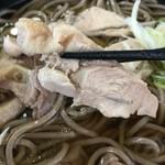そば処えびす - 鶏肉アップ201603