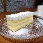 ユカフェ - 柚子のチーズケーキ