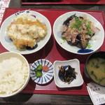 49891969 - 「九州ご当地選べる定食 2品」(¥980)