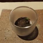 49899610 - アセロラの香りを纏わせたクブシミとカジキのタルタル