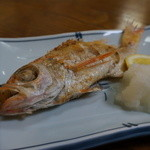 キッチン さかなやさん - ノドグロ塩焼・・\600円(安っ)