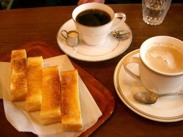 喫茶去 快生軒 - コーヒー、カフェオレ、トースト