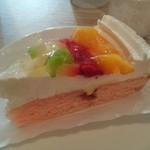 久緒羅珈琲 - 季節のフルーツケーキ