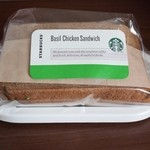 スターバックスコーヒー - バジルチキンサンドイッチ