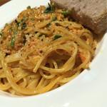 クラシコ - 北海道産かにと青菜のトマトクリームスパゲティー(ランチ限定)