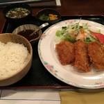 うすけぼー - ヒレカツ定食