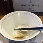 河内の中華そば 醤 - 旨過ぎ^^