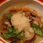 鮨菜旬炉料理 笑和 - 金目鯛の沢煮蒸し